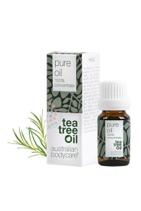 ABC TEA TREE olej - original Australian Bodycare TEA TREE OIL ORIGINAL - 10ML / NOVÝ OBAL + Vlasová vzorka ZDARMA